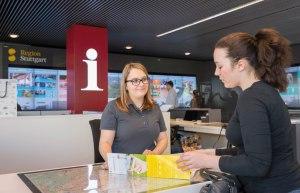 Tourist_Information, © Stuttgart-Marketing GmbH / Peter Hartung